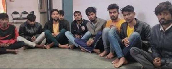 सुखेर पुलिस की बड़ी कार्यवाही: डकैती की योजना बनाते 9 शातिर बदमाश गिरफ्तार