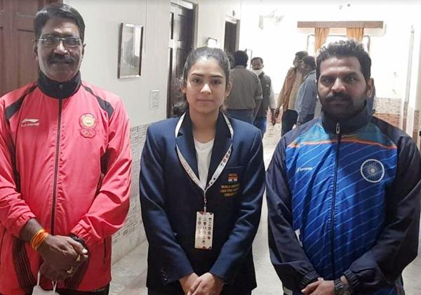 उदयपुर की नेहा का एशियाई ओलंपिक क्वालीफाईर में चयन