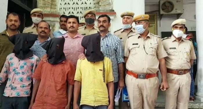 गोगुन्दा में विमंदित महीला से सामूहिक दुष्कर्म के तीनो आरोपी गिरफ्तार
