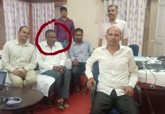 उदयपुर एसीबी की कार्यवाही: वार्ड पंच को 10 हज़ार रूपये रिश्वत लेते किया गिरफ्तार